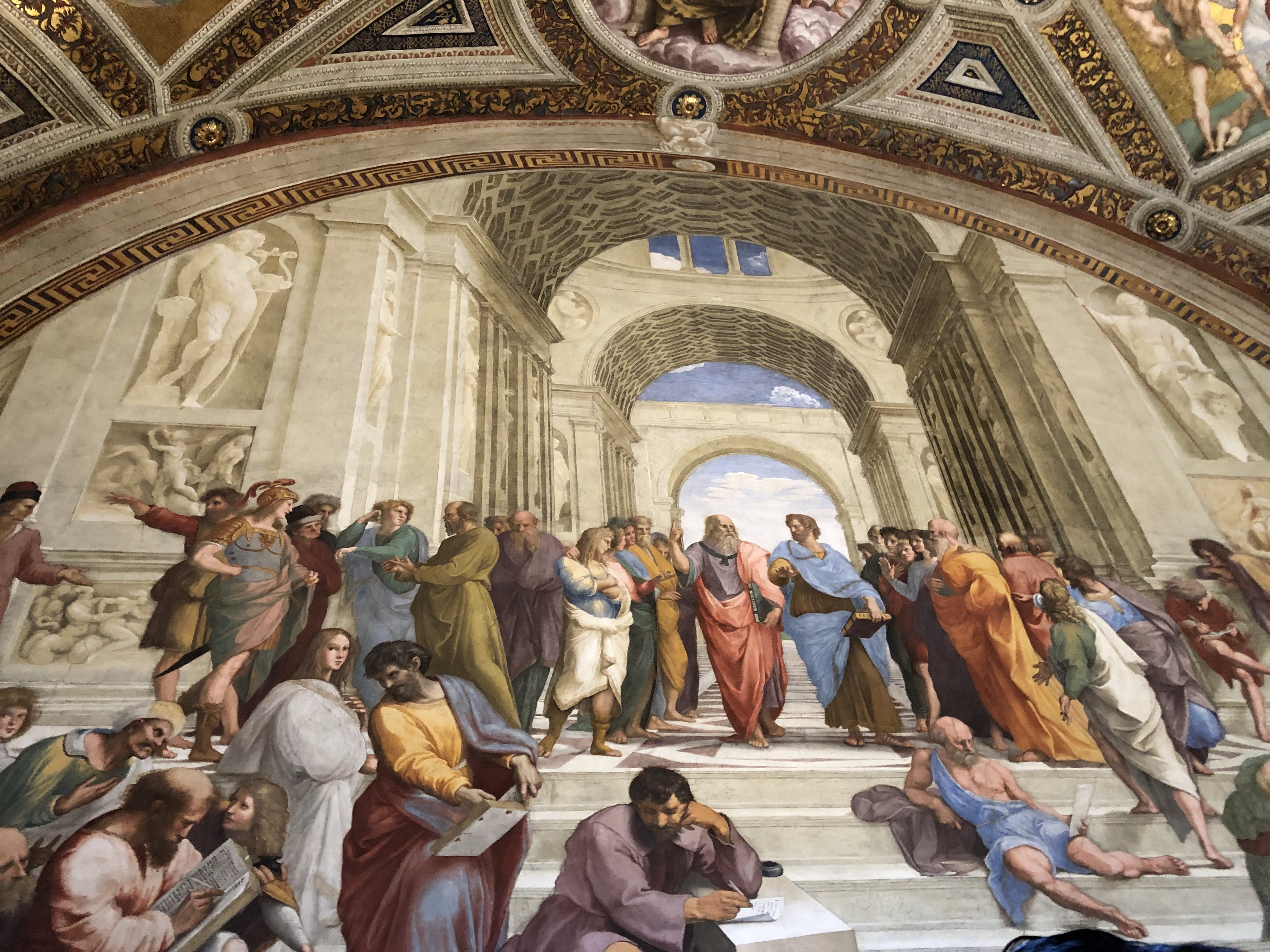Stanze di Raffaello: scuola di Atene