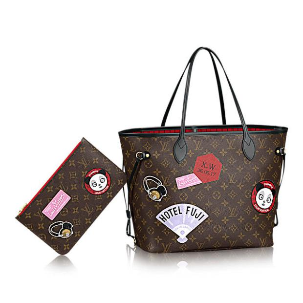 Louis-Vuitton-Neverfull-MM-My-World-Tour-Bag-1