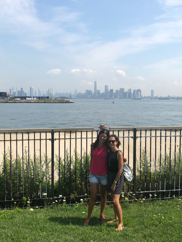 New York vista dal New Jersey