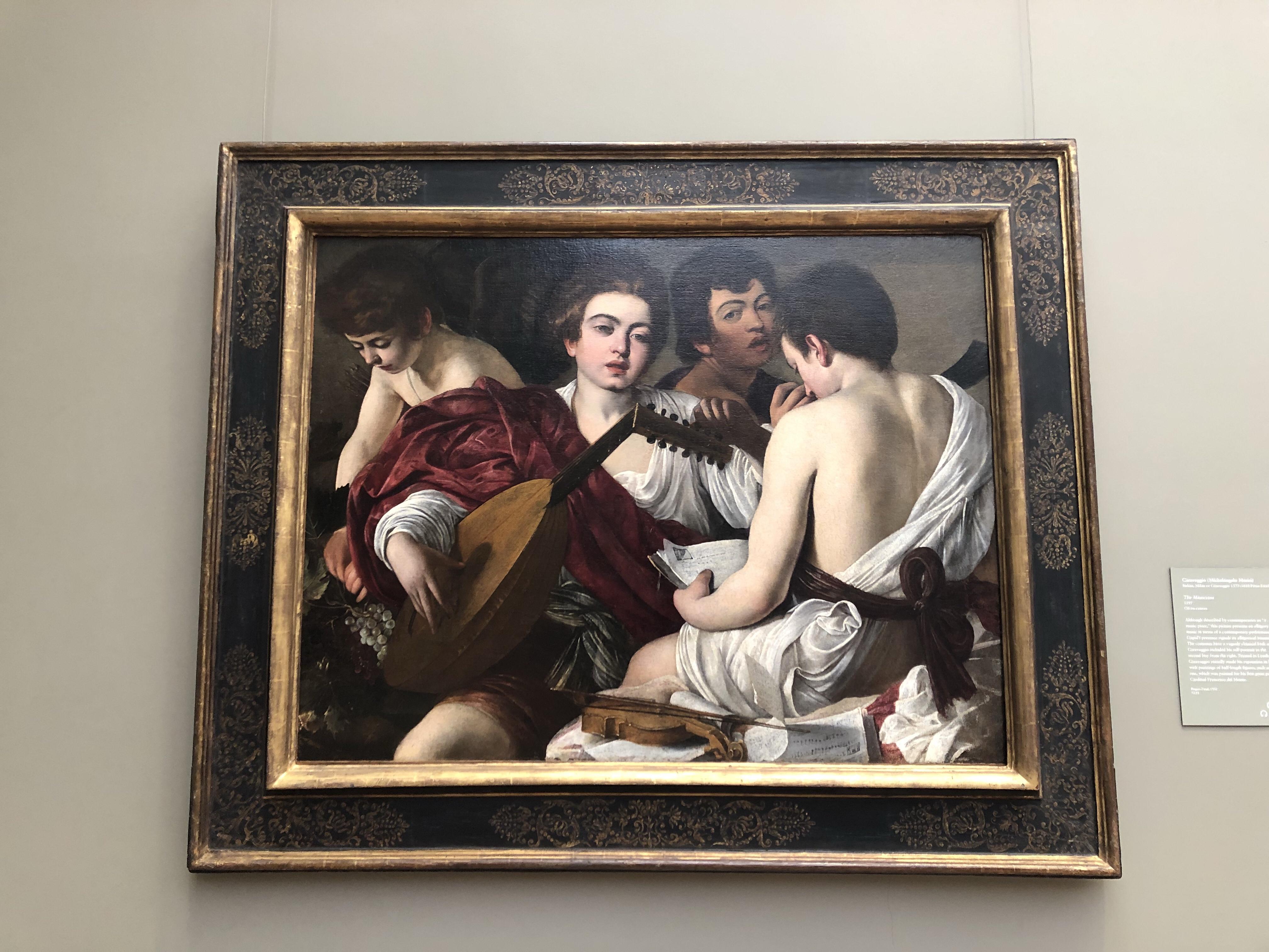 Caravaggio Metropolitan New York