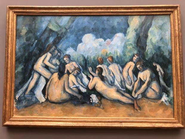 Cezanne National gallery Londra