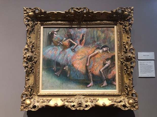 Degas national gallery Londra