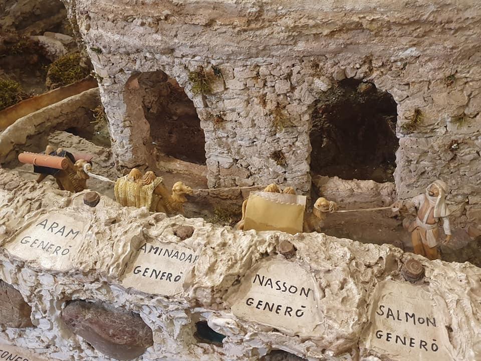 Presepe dei netturbini. Genealogia di Gesù