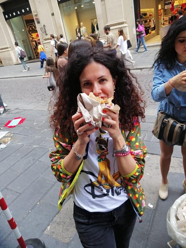 Viaggiatrice da grande a Napoli
