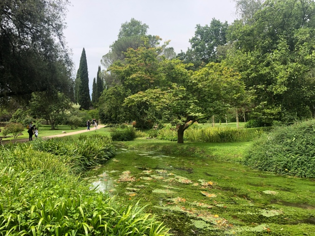 Giochi d'acqua giardino Ninfa